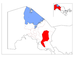 Location of Beruniy District in Qoraqalpog'iston.png