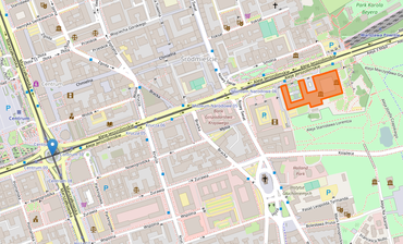 Location of the National Museum in Warsaw.png