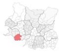 Locator map of Triyuga Municipality.png