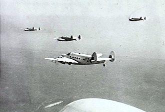 No. 53 Squadron RAF - 53 Squadron Lockheed Hudsons in 1942.