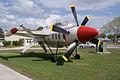Lockheed XFV-1 Salmon BuNo 138657 RSideFront FLAirMuse 05March2011 (14599637365).jpg