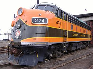 EMD F7 der Great Northern Railway #273