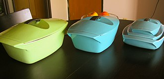 """Le Creuset - Dutch ovens or """"coquelles"""" designed by Raymond Loewy"""