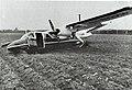 Loganair Britten-Norman BN-2A-26 Islander G-BDVW after accident.jpg