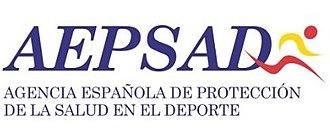 Spanish Anti-Doping Agency - Image: Logo AEPSAD