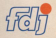 Logo fdj 1990