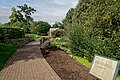London - Kew Gardens - Secluded Garden 1995 by Anthea Gibson - View WNW.jpg