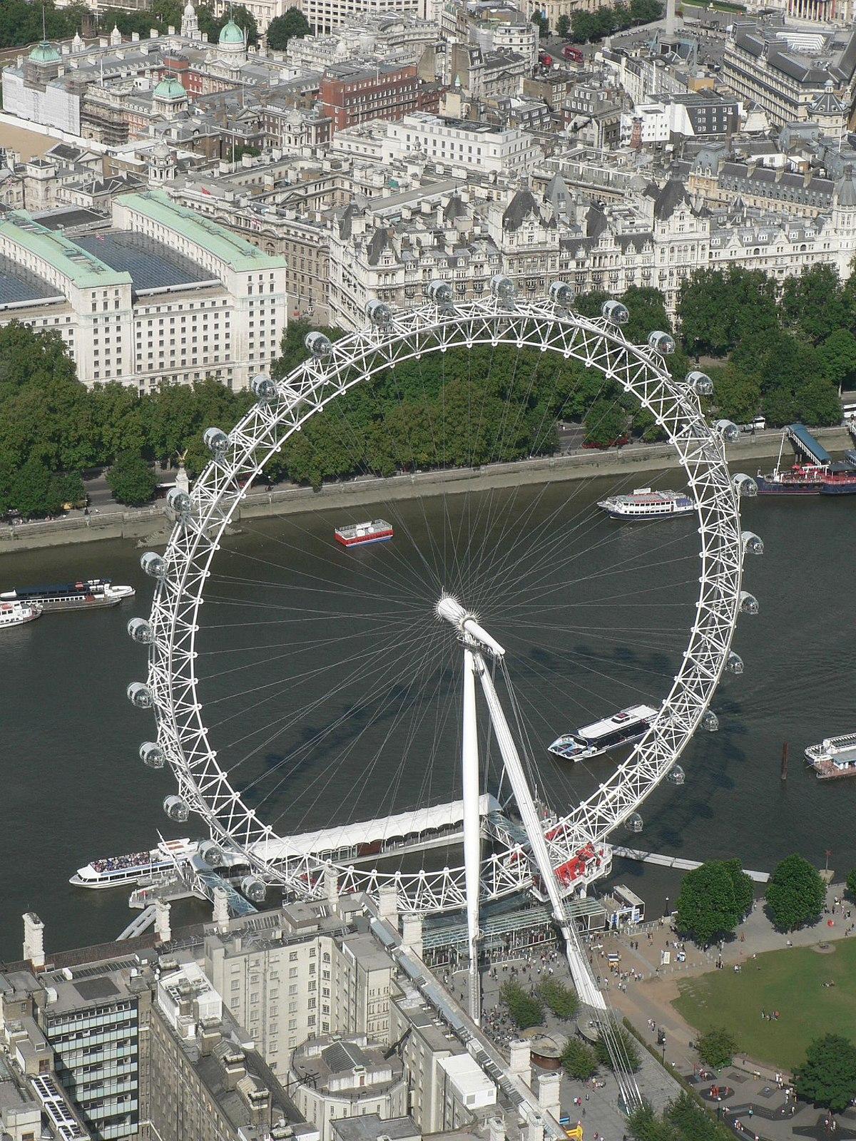London Eye Simple English Wikipedia The Free Encyclopedia