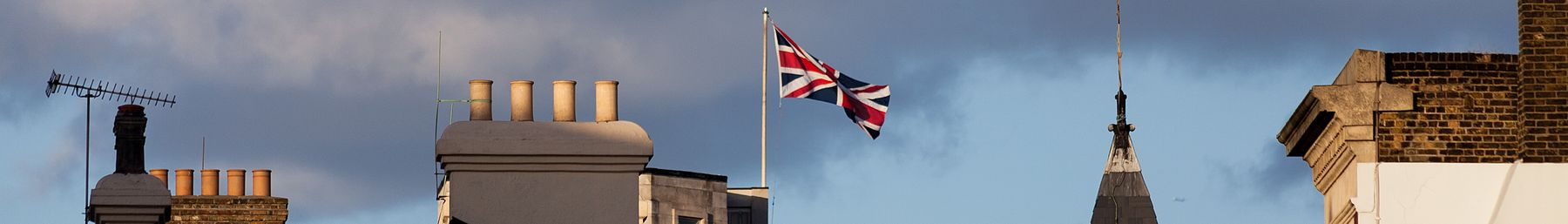 Flying the flagː Westminster is the seat of British Government