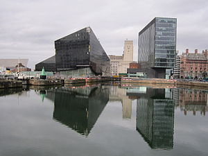 Looking across Canning Dock to Mann Island, Liverpool - 2012-02-26.jpg