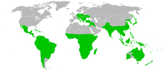 Loranthaceae distribution.png