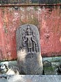 Lord Vishnu stone curving at Basistha Temple, Guwahati.jpg
