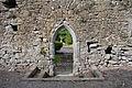 Lorrha Priory of St. Peter Choir North Wall Doorway 2010 09 04.jpg