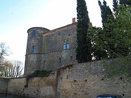 Castle of Loubens-Lauragais