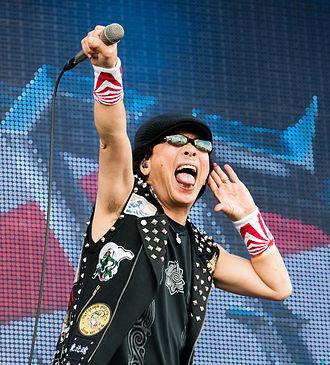 Minoru Niihara - Niihara performing with Loudness at Wacken Open Air in 2016