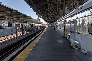 Metro Vancouver SkyTrain interchange station