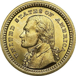 Louisiana Purchase Exposition gold dollar United States commemorative coin