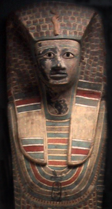 Rishi coffin of Sekhemre-Heruhirmaat Intef, on display at the Louvre