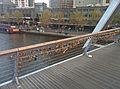 Love locks of Southbank Bridge Melbourne Australia.jpg