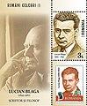 Lucian Blaga 2018 stampsheet of Romania.jpg