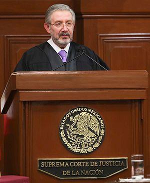 Luis María Aguilar Morales - Justice Aguilar Morales in 2016