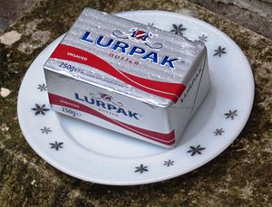 Lurpak - Lurpak butter 250g unsalted for the UK market