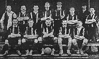 Luton Town F.C. - The Luton Town squad of 1897–98, which won the United League title
