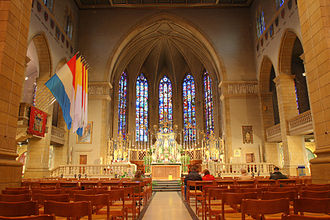 Notre-Dame Cathedral, Luxembourg - The Cathedral Quire