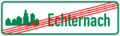 Luxembourg road sign diagram E,9ba (2016).png