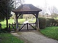Lych gate, All Saints Church, Netheravon - geograph.org.uk - 362659.jpg