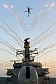 Lynx Helicopter Firing Flares Over HMS Monmouth MOD 45154841.jpg