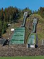 Lysgårdsbakken, Lillehammer, Southwest view 20150616 2.jpg