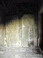Médréac (35) Église Saint-Pierre Pierres tombales.jpg
