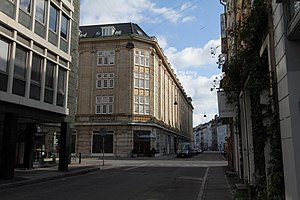 Møntergade - Møntergade with the Møntergården office building in the middle of the picture