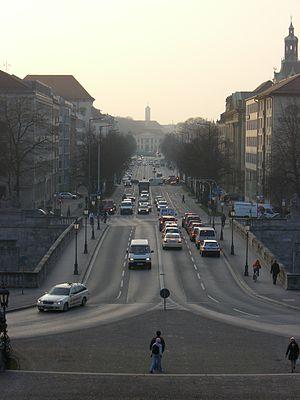 Prinzregentenstraße (Munich) - Prinzregentenstraße