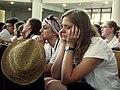 Młodzi ludzie podczas uroczystej mszy św. (9531306170).jpg
