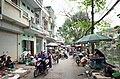 Một phần chợ trên phố Ngô Gia Tự, đi vào từ ngã ba phố Chi Lăng giao với phố Ngô Gia Tự, thành phố Hải Dương, tỉnh Hải Dương.jpg