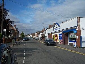 Markfield - Image: MAIN STREET, MARKFIELD