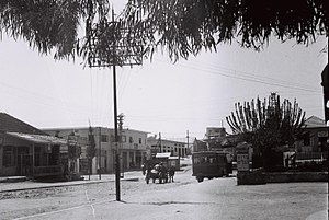 Rehovot - Main street of Rehovot in 1933