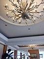 MC Macau hotel hall lobby interior ceiling lamp 鷺環海天度假酒店 Grand Coloane Resort 1918 Estrada de Hac Sa 路環 黑沙馬路 May 2017 Lnv2 05.jpg