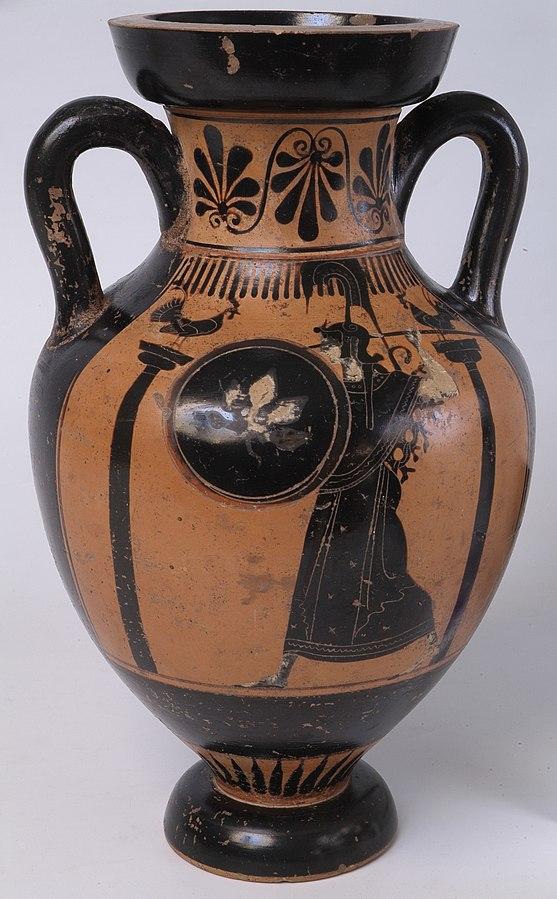 Amphore panathénaïque 26084