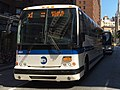 MTA NYC Bus X1 bus on Broadway.jpg