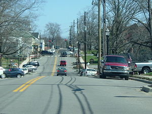 Middletown, Kentucky - Main Street in Middletown