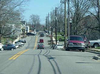 Middletown, Kentucky - Main Street in Middletown