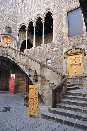 Casa Padellàs - Court of the Casa Padellàs