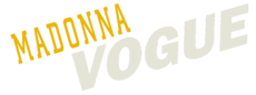 Logo del disco Vogue