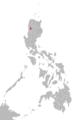 Maeng Itneg language map.png