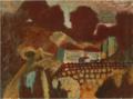 MaetaKanji-1923-Red Landscape.png