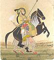 Maharana Sangram Singh Riding a Prize Stallion.jpg