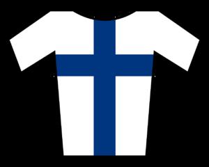 Jussi Veikkanen - Image: Maillot Fin